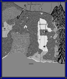 Карта Инириды серая